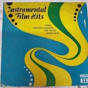 Instrumental Film Hits LP Vinyl Record by Vimal Chandan Dasgupta Ajit Ghos & Bidyut Bose www.mossymart.com 1