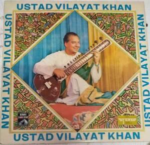 Instrumental Sitar LP Vinyl Record by Vilyat Khan www.mossymart.com 2