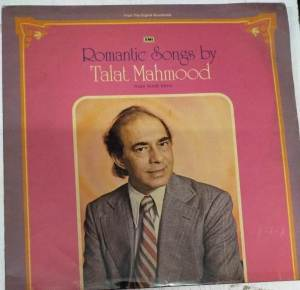 Romantic Songs by Talat Mahmood from Hindi Films LP Vinyl Record www.mossymart.com 1