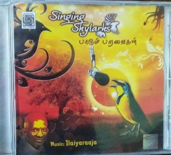 Singing Skylarks Tamil Film hits Audio CD by Ilayaraja www.mossymart.com 1