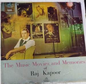 The Music Movies and memories of Raj kapoor Hindi FIlm Hits LP VInyl Records www.mossymart.com 1