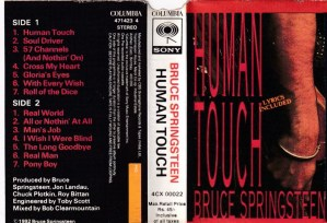 Bruce Springsteen Human Touch English Album ( western music) Audio Cassette www.mossymart.com 1