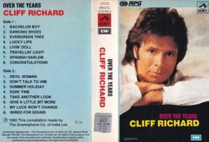 Cliff Richard English Album ( western music) Audio Cassette www.mossymart.com 1
