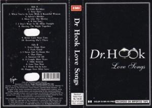 Dr. Hook Love songs English album Audio Cassette www.mossymart.com 1
