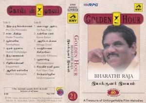 Golden Hour Bharathi Raja Tamil FIlm hits Audio Cassette by Ilayaraaja www.mossymart.com 1