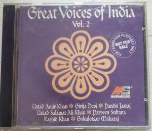 Great Voices Of India Hindi Film Audio CD www.mossymart.com 1