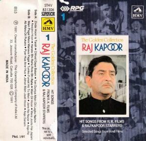 Hits Songs by Rajkapoor Hindi Film Audio Cassette www.mossymart.com 1