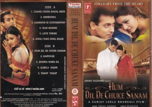 Hum DIl De Chuke Sanam Hindi Film Audio Cassette www.mossymart.com 1