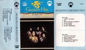 Jackson 5 Greatest Hits English album Audio Cassette www.mossymart.com 1