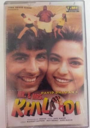 Khiladi Hindi Film Audio Cassette by Anumalik www.mossymart.com 1