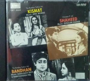 Kismat - Shaheed-Bandan Hindi Audio CD by Anil Biswas - Ghulam Haider -C Ramachandra www.mossymart.com 1