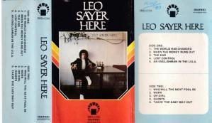 Leo Sayer Here English album Audio Cassette www.mossymart.com 1