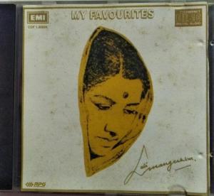 My Favourites Hindi Film hits Audio CD by Lata Mangeskar www.mossymart.com 1