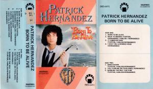 Patrick Hernandez English album Audio Cassette www.mossymart.com 1