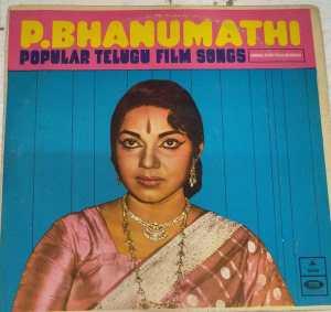 Popular Songs By P Bhanumathi Telugu Film L P Vinyl Record www.mossymart.com 1