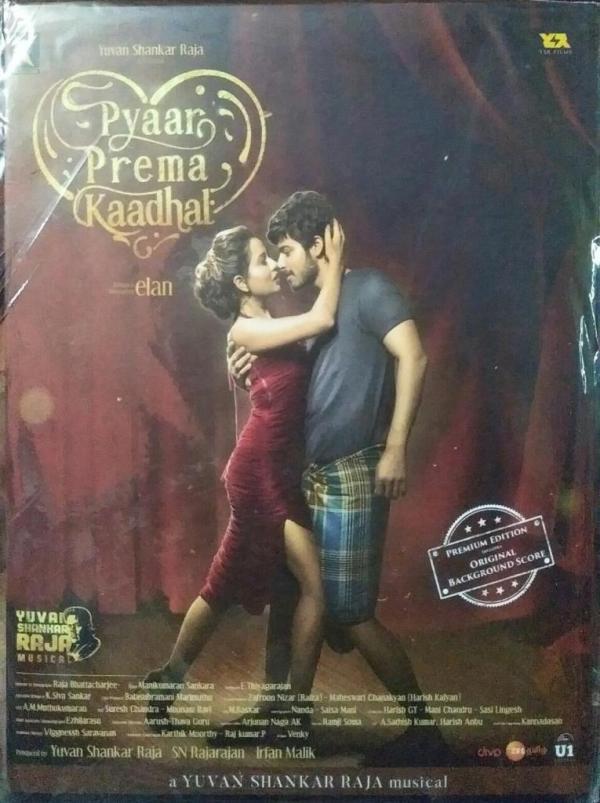 Pyaar Prema Kaadhal Tamil FIlm Audio CD by Yuvan Shankar Raja www.mossymart.com 1