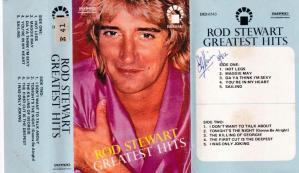 Rod Stewart Greatest Hits English album Audio Cassette www.mossymart.com 1