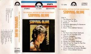 Staying Alive English album Audio Cassette www.mossymart.com 1