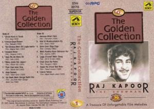 The Golden Collection of Raj Kappor Hindi Film Audio Cassette www.mossymart.com 1