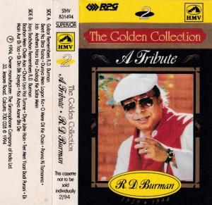 The Golden collection Hindi FIlm Audio Cassette by R & D Burman www.mossymart.com 1