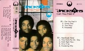 The Jacksons Can You Feel It English album Audio Cassette www.mossymart.com 1