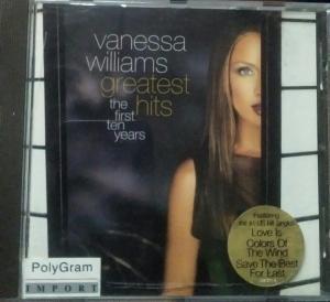 Vanessa Williams The Greaterst Hits English Audio CD www.mossymart.com 1