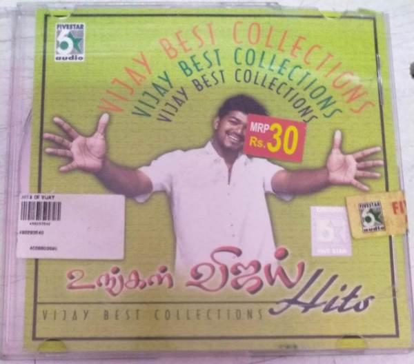 Vijay Best Hits Tamil Film Audio CD www.mossymart.com 1