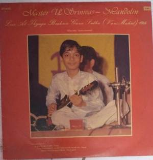 Instrumetal Mandalin Master U Srinivas LP Vinyl Record www.mossymart.com 1