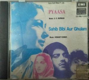 Pyaasa - Sahib Bibi Aur Chulam Hindi Film Audio CD by SD Burman- Hemant Kumar www.mossymart.com 1