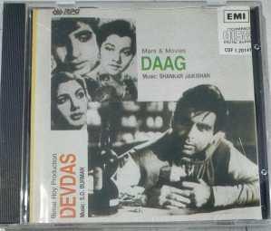 Daag- Devadas Hindi Film Audio CD by Shankar Jaikishan- SD Burman www.mossymart.com 1