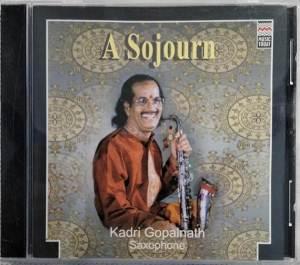 A Sojourn Instrument Saxophone Audio CD by Kadri Gopalnath www.mossymart.com 1