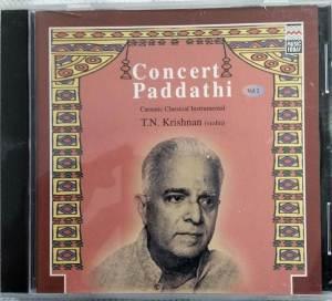 Concert Paddathi carnatic Classical Instrument Audio CD www.mossymart.com 1