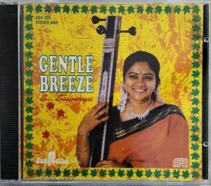 Gentl Breeze Carnatic classical Audio CD by S Sowmya www.mossymart.com 1