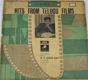 Hits From Telugu Films starrer N T Rama Rao LP VInyl Record www.mossymart.com 1
