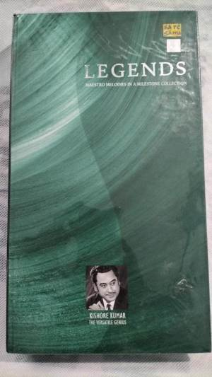 Legends Maestro Melodies in a Milestone Collection by Kishore Kumar Hindi film hits Audio CD www.mossymart.com 1