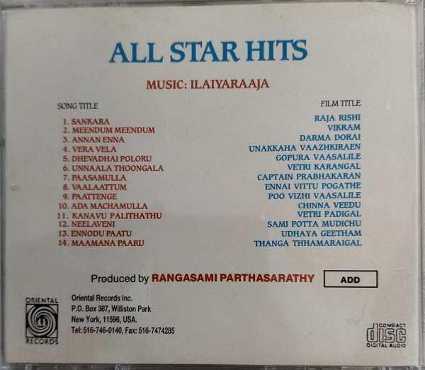 All star hits Tamil FIlm hits Audio CD by Ilayaraaja www.mossymart.com 1