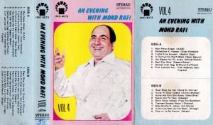 An Evening with Mohd Rafi Hindi FIlm hits Audio Cassette www.mossymart.com 1