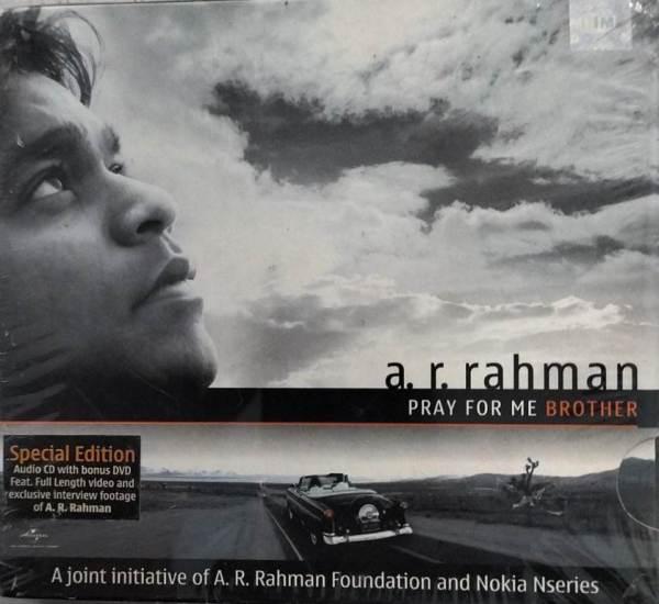 Pray For me Brother Hindi Film Audio CD by AR Rahman www.mossymart.com 1