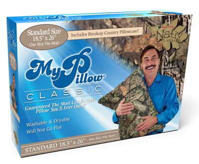 mypillow and mossy oak nativ living