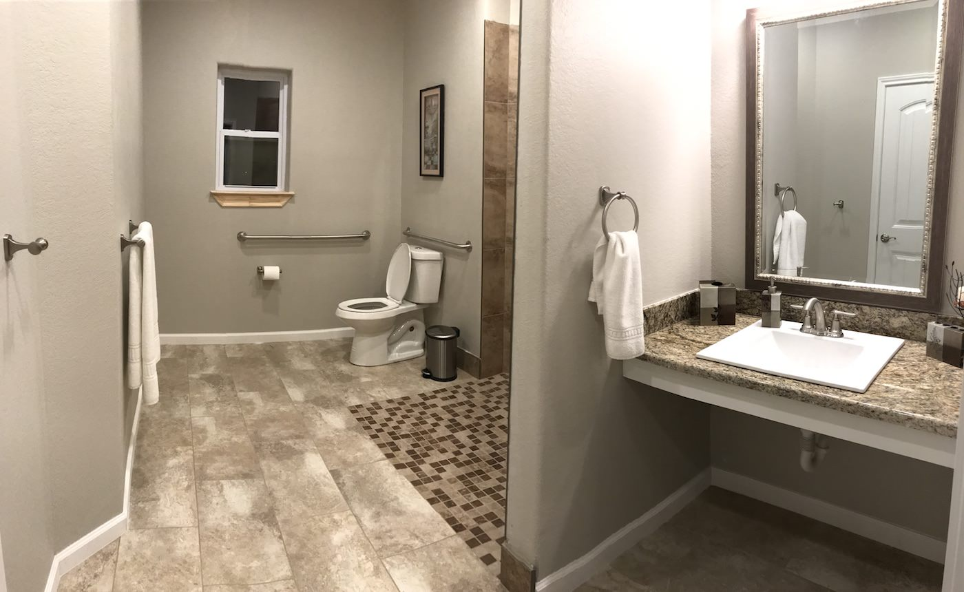 One Of Our Eight Bathrooms