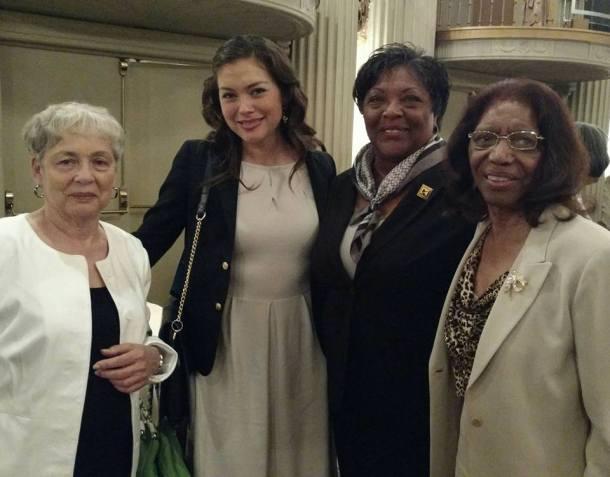 Marisol Léon and her mentors