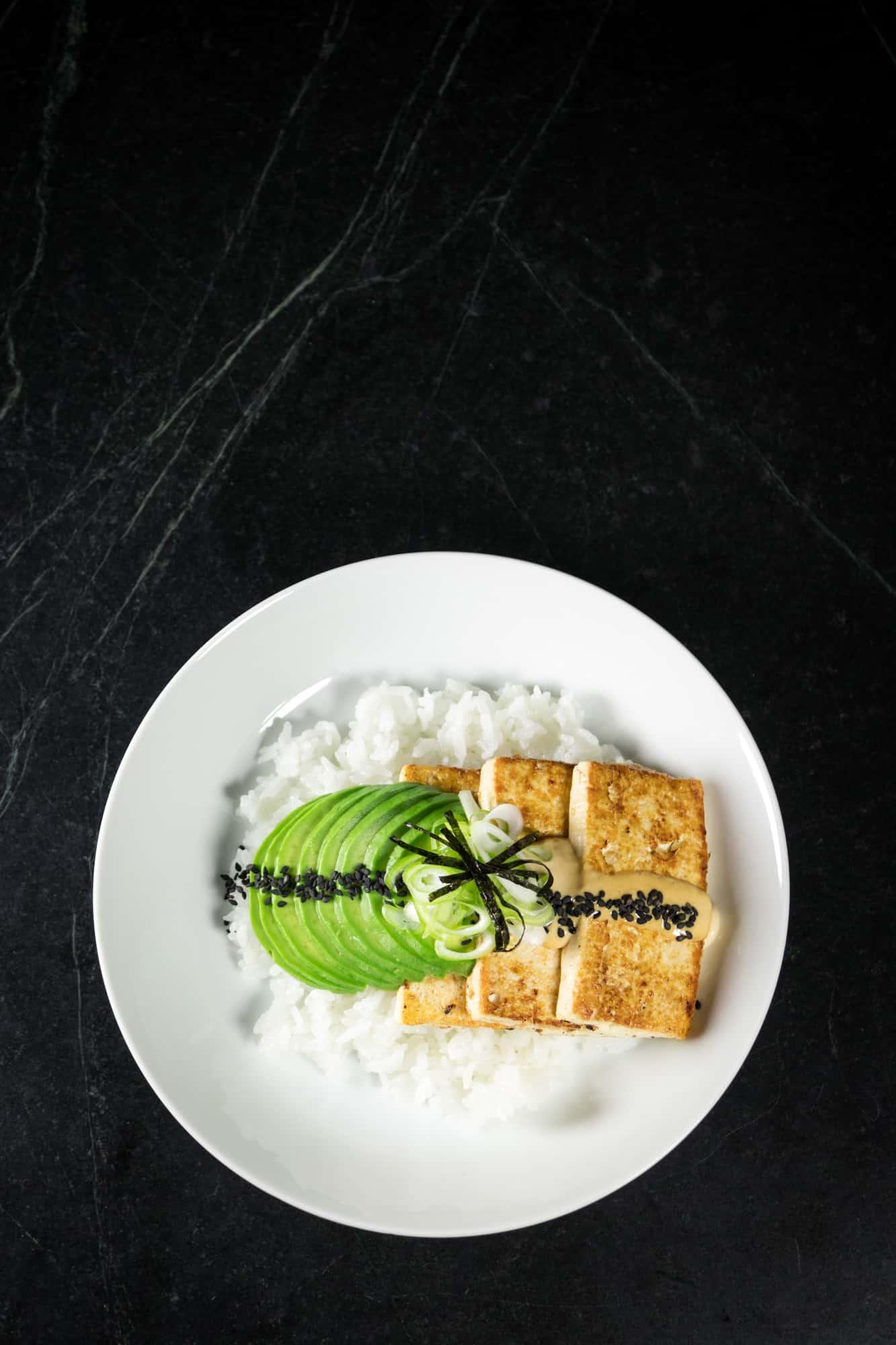 Garlic Ginger Tofu