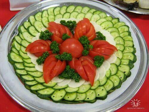 Блюдо Украсить Фото