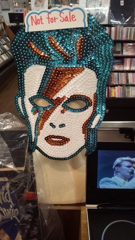Japanese Record Store Tributes To David Bowie Mostly Retro