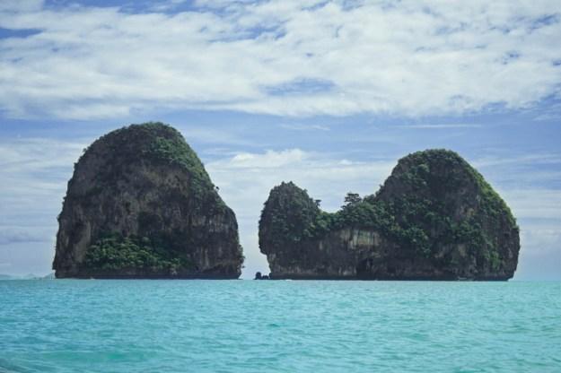 View over the islands, Ao Nang Krabi, Thailand