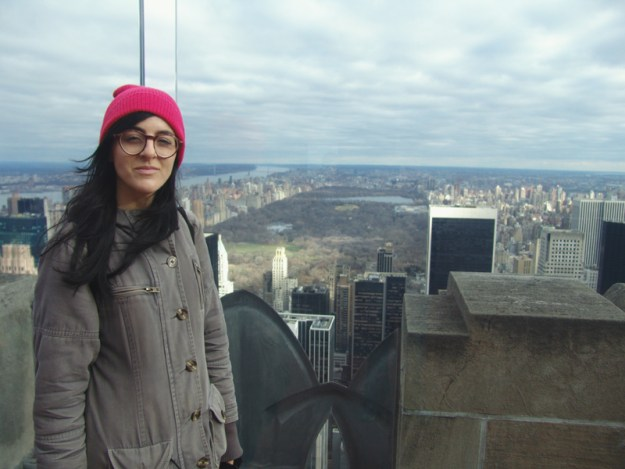 On top of the Rock, Rockefeller Center, New York City
