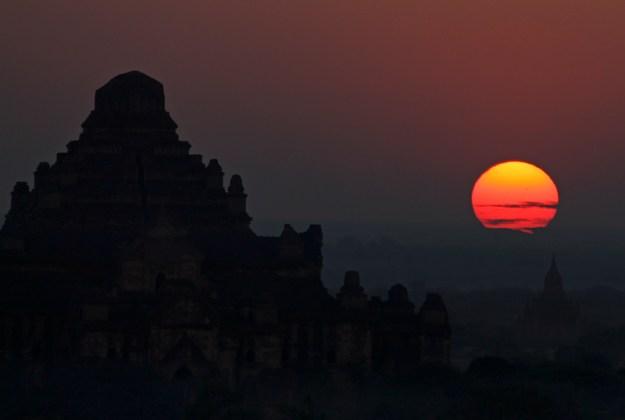 Sunrise in Bagan, Myanmar (Burma)