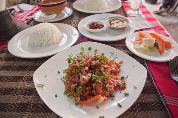 The moon - be kind to animals - vegetarian and vegan restaurant, Bagan, Myanmar (Burma)
