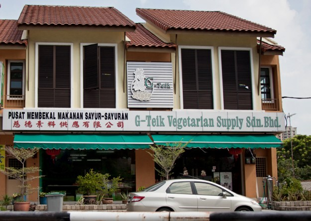 Vegan and Vegetarian Food Guide to Malacca - G Teik