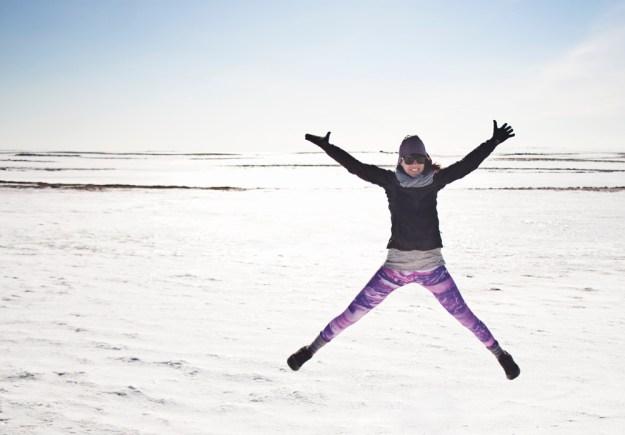 snow iceland